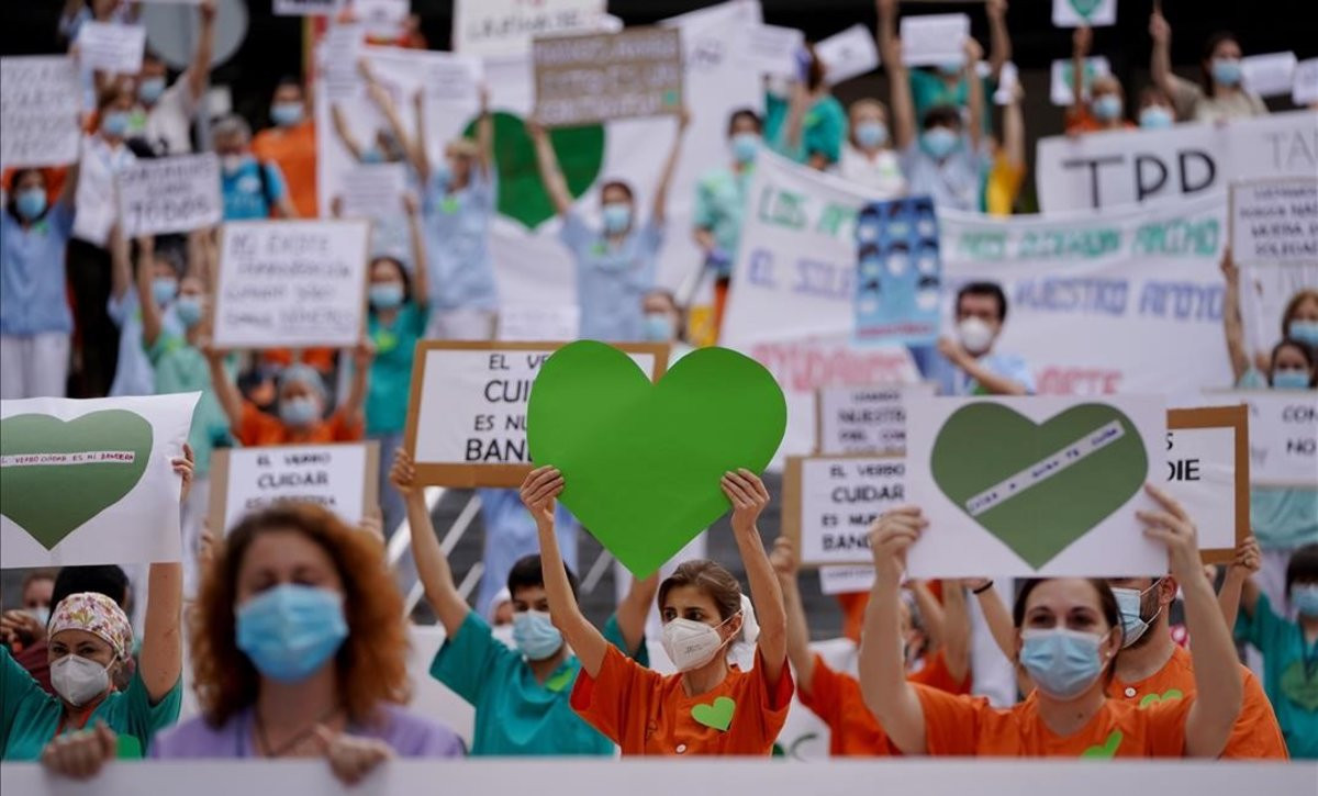concentracion-sanitarios © JOSÉ LUIS ROCA